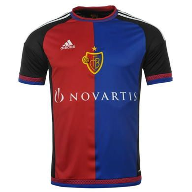 adidas FC Basel Home Shirt 2015 2016 Junior