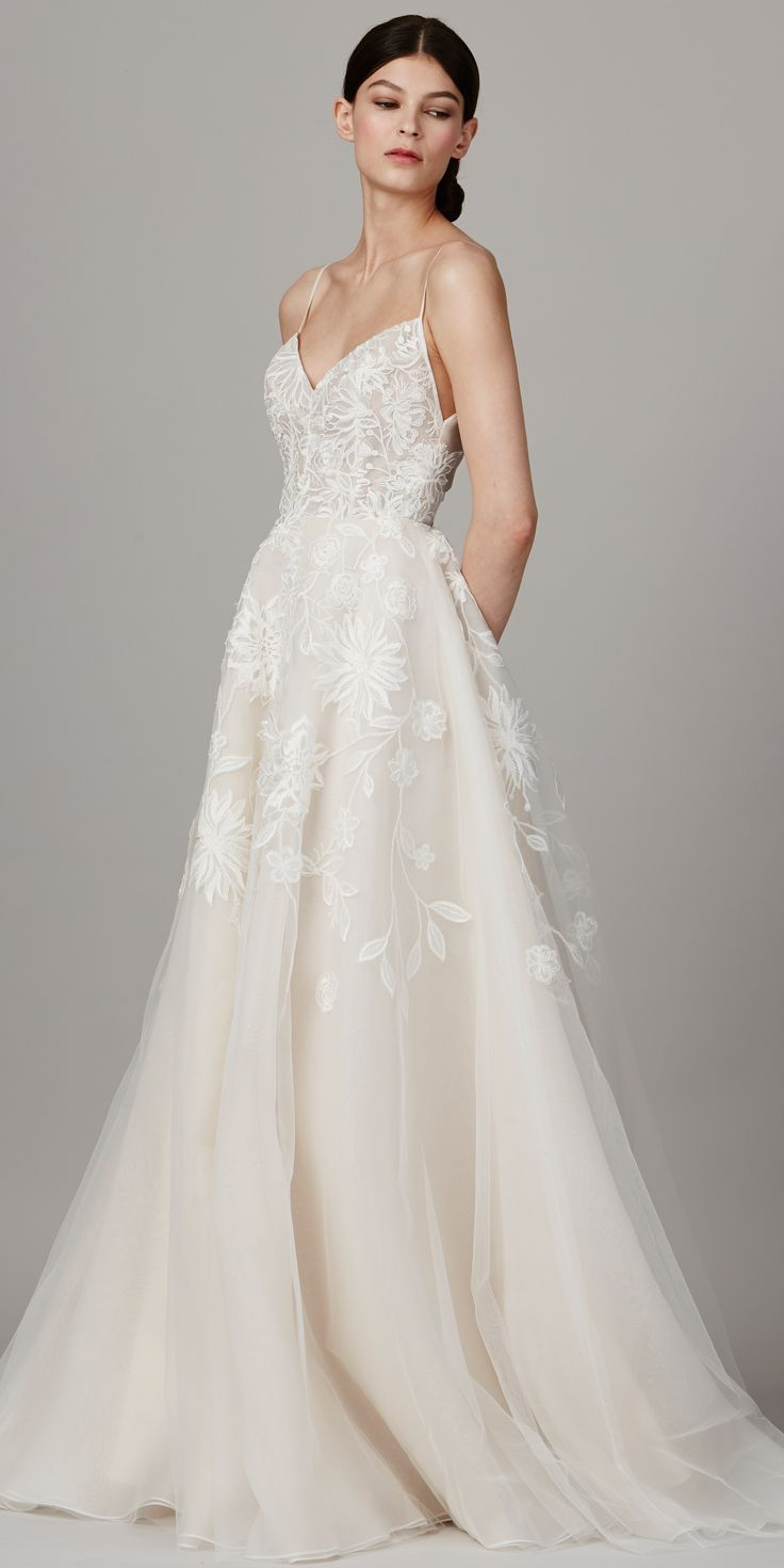 Fresh The Prettiest Spring Wedding Dresses from Bridal Fashion Week