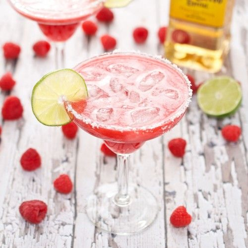 Raspberry Margarita {Sweet Pea's Kitchen}