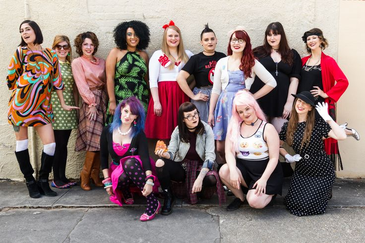 Halloween starts early at Trashy Diva - check out our costumes from our Decades dress up day! Get your key pieces for your decades costume from trashydiva.com! #TrashyDiva #halloween #decades #costumes #diy #vintage
