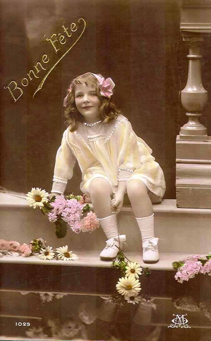 All sizes | Vintage Postcard ~ Pretty Girl | Flickr - Photo Sharing!