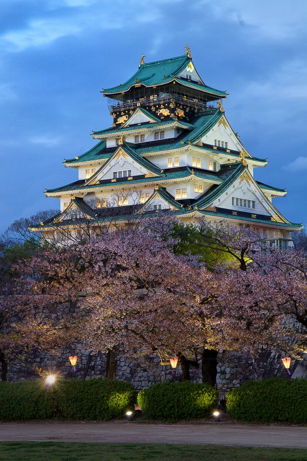 Cherry Blossoms Festival in Osaka Castle, Japan