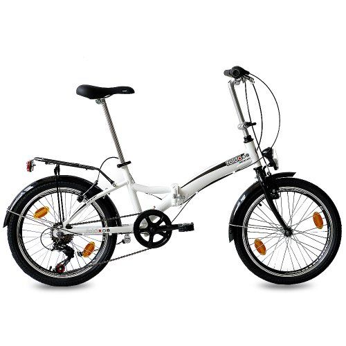 20″ FOLDING BIKE ALLOY CITY BIKE FOLDO 6 speed SHIMANO
