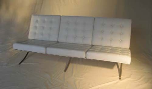 This little neutral colored number looks comfy enough to blend into any seating situation!