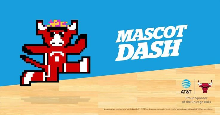 It's game time! Play AT&T Mascot Dash to test your skills and help Benny The Bull dodge his rivals. Plus, you'll be entered for a chance to win cool weekly prizes when you play!  #BullsMascotDash #Sweeps  PLAY: www.bulls.com/att