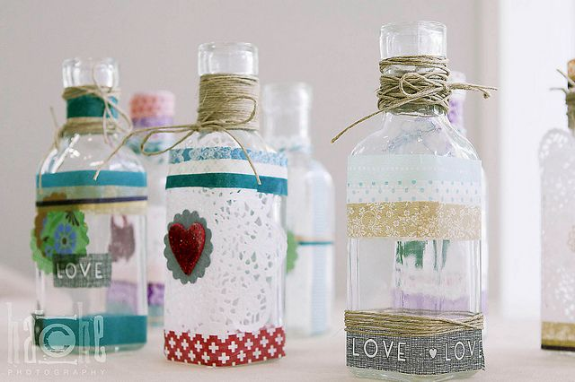 Washi tape bottles www.washitapes.nl for the tapes ༺✿ƬⱤღ  http://www.pinterest.com/teretegui/✿༻