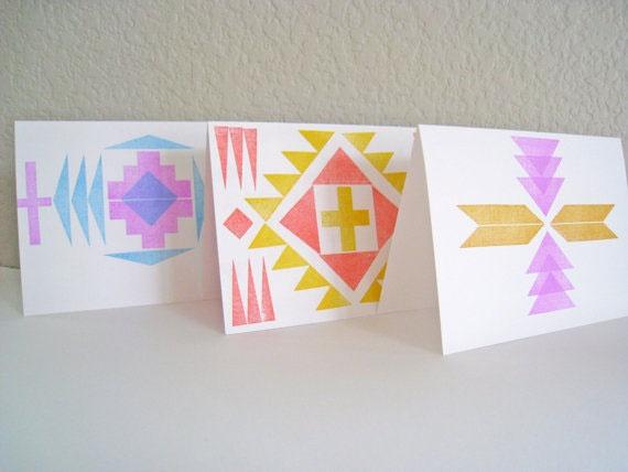 Southwestern Stamp Set Uncovet: Color, Art, Card Design, Invitations Cards, Card Making, Card Ideas, Sewing Patterns