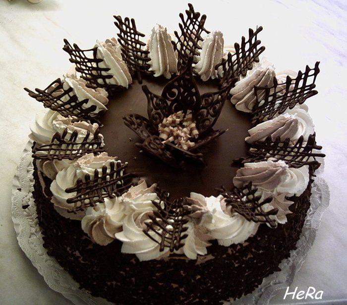 čokoládové ozdoby na dort postup - Hledat Googlem