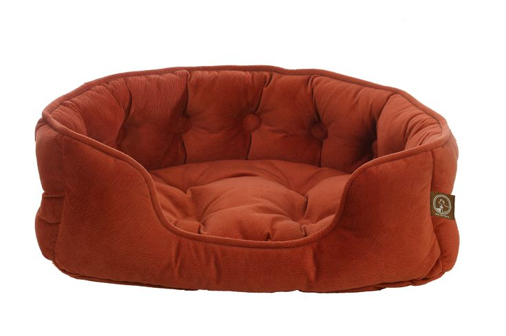 Faux Suede Snuggle Bed-Navajo   Ideal for dogs or cats that like to curl up or snuggle to sleep.