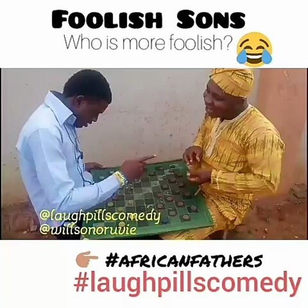 😂😂 throw back video I did sometime ago.  Someone did similar thing like this so I remembered I once did something like that.  For me sha I still don't know who is more foolish.  You can help me out I guess. 😂😂 #laughnigeria #krakshq  #krakstv  #funnyafricanpics #funnyvideos #naijacomedy  #foolish  #africa #parents  #laughpillscomedy @krakstv @krakshq  @funny_african_pics  @laughnigeria  @gonaij  @funnynaijapics  @thespian_nozy  @nesytv @welove2laugh @african_funniest