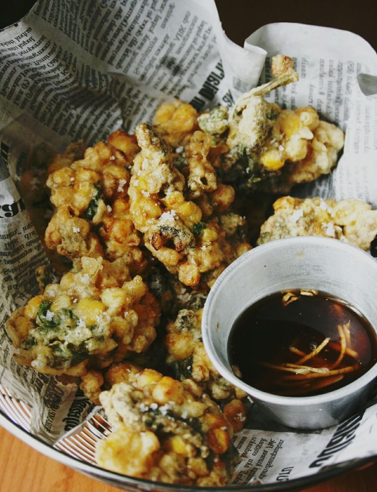 Sweetcorn and Nori Fritters | Recipe from Lady & Pups