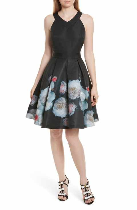 4a66bfa59b4 Ted Baker London Jelina Chelsea Floral Fit   Flare Dress