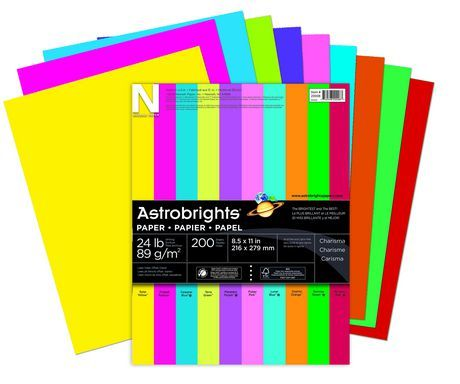 Astrobrights Assorted 10 colours available from Walmart Canada. Get Office & Stationery online at everyday low prices at Walmart.ca