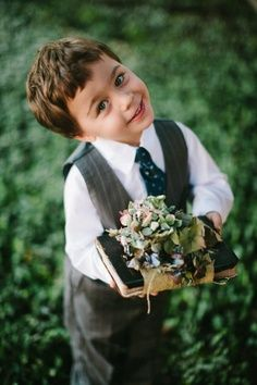 ring bearer outfit for 1920s inspired wedding