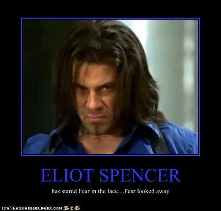 #Leverage - one of the best shows ever :) Eliot Spencer is the new Chuck Norris