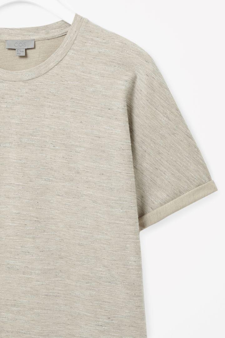 COS | Melange jersey top