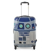 r2d2 suitcase | Custom Suitcase Makes Sure R2-D2 Is Always With You