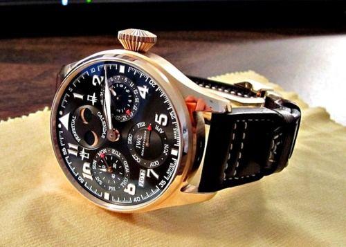 St Exupery Perpetual Calendar Big Pilot - International Watch Company