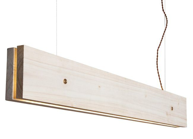 Do It Yourself: LED Lamp with two planks.
