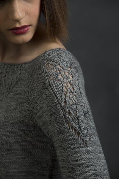 Victoria, lace sleeve detail
