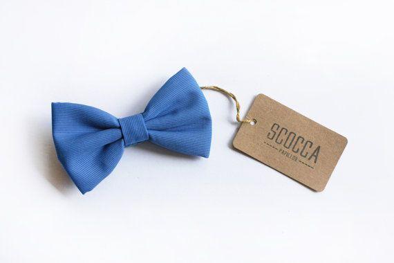 Papillon azzurro per bambino,farfallino blu cravatta per bimbo ragazzo 0/12 anni,paggetto,accessori cerimonia bambino,accessori neonati,bebè