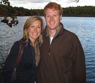 Lauren Anne Birchfield and Joseph Patrick Kennedy III