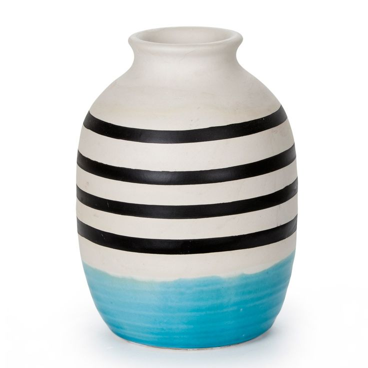 Blue Graphic Vessel Large | New Arrivals | Homeware - Me and My Trend