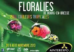 Floralies de Bourg-en-Bresse 2013