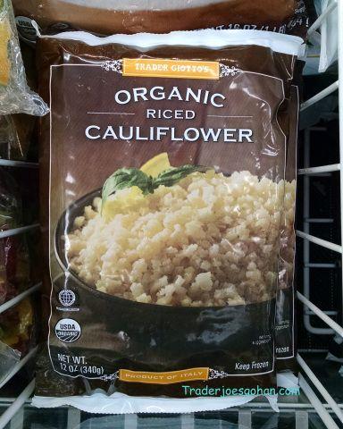 Trader Giotto's(Joe's) Organic Riced Cauliflower 12oz/340g $1.99 トレーダージョーズ オーガニックカリフラワーライス #traderjoes #Cauliflowerrice #トレーダージョーズ #カリフラワーライス