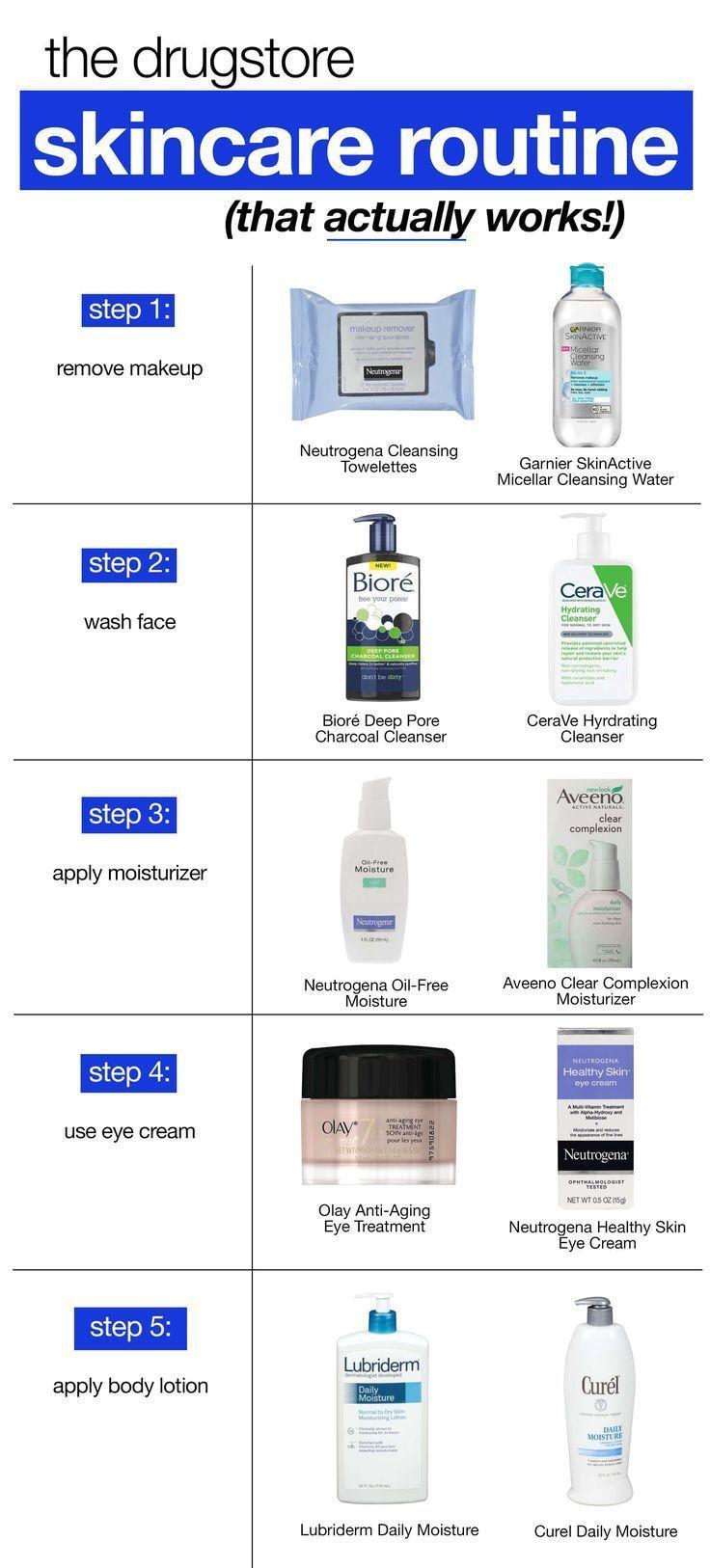 Die besten Hautpflegeprodukte unter 20 $ !! Sehen Sie meine Lieblings-Apotheke Hautpflege