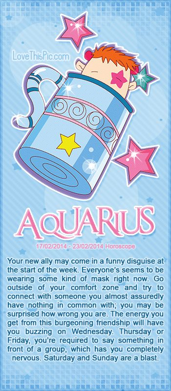 AQUARIUS WEEKLY HOROSCOPE 2/17/14 - 2/23/14 astrology zodiac aquarius horoscopes horoscope weekly horoscope astrological forecast horoscope signs predictions
