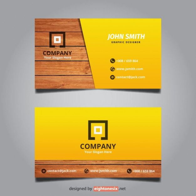 87 best free business card templates images on pinterest free creative modern wooden business card free vector more at designresources colourmoves