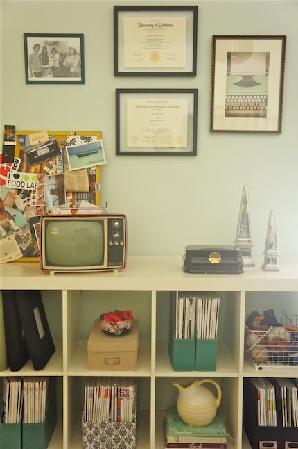 Home Office - Storage. I need to do this with my millions of magazines...