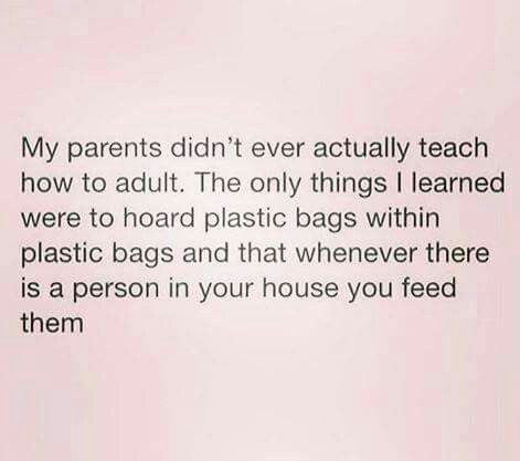 does everyone do the plastic bag thing? i didn't know other people did that lol