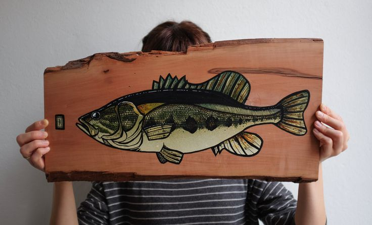 bass-on-pear-wood (1 of 2).jpg