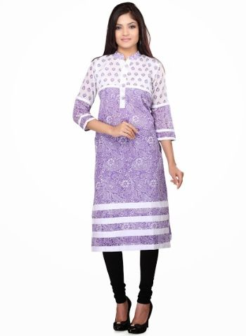 Buy Contemporary Deep Purple formal Ready Made cotton Kurti Online In India. Free Shipping. Cash On Delivery.
