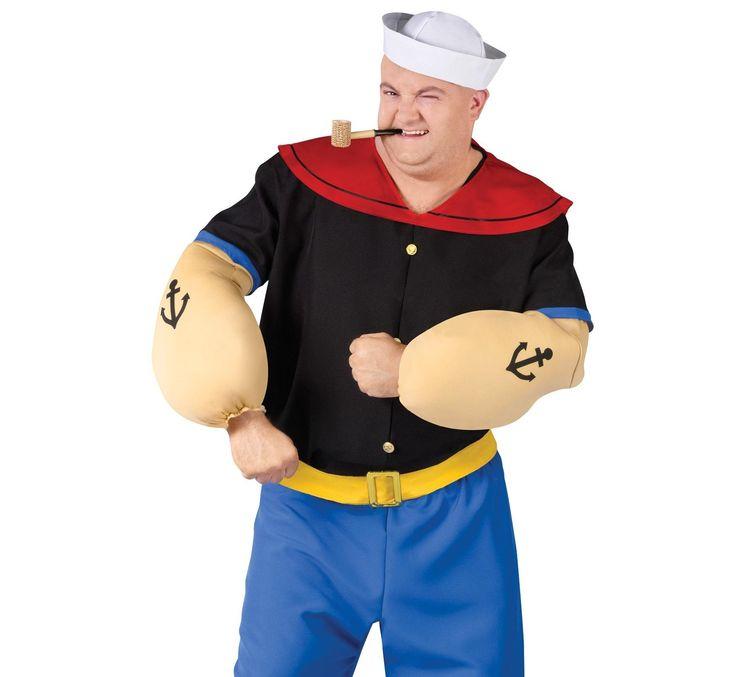 Se você é fã deste personagem, então aprenda conosco a fazer a fantasia para este carnaval :) #carnaval #fantasia #popeye
