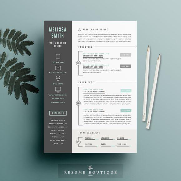 232 best Resumes images on Pinterest | Resume templates, Cv resume ...