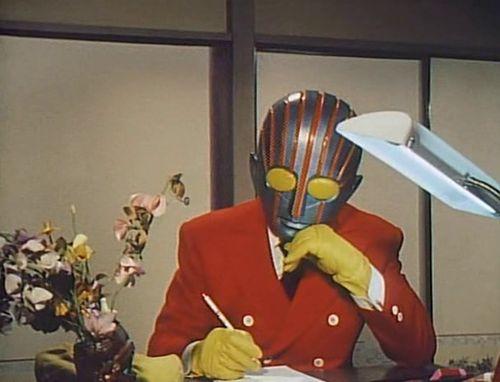 Robot writes a letter