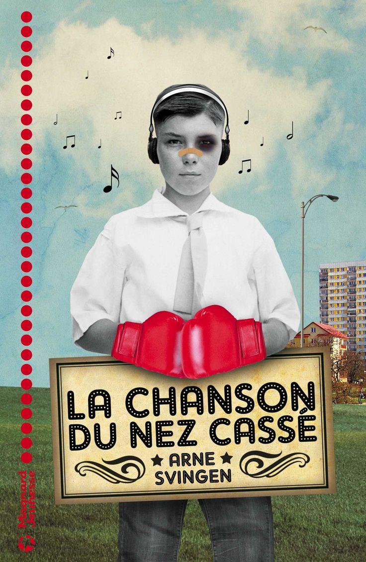 La chanson du nez cassé d'Arne Svingen. Un roman pour les adolescents. Prix de la revue Libbylit 2015 #SalonEduc15