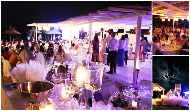 Beach bar wedding in Chalkidiki