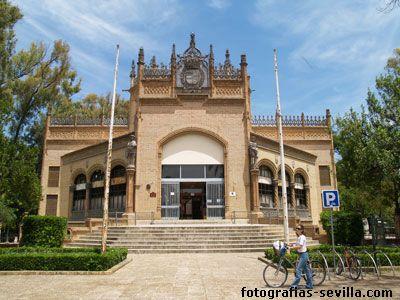 Fue el Pabellón Real durante la Exposición Iberoamericana de 1929. Se treminó en el año 1916. Para su diseño, el arquitecto Aníbal González se inspiró en el estilo ojival flamígero. Actualmente el edificio está ocupado por oficinas del área de empleo del Ayuntamiento de Sevilla.