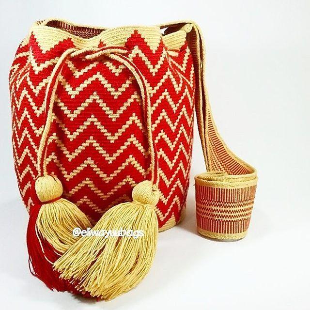 Wayuu Mochila bag Whatsapp: +573006388348