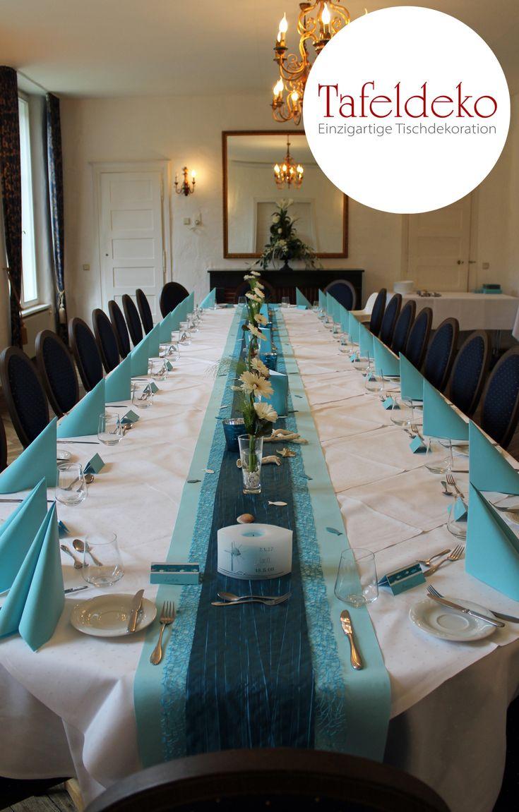 Schöne Tischdeko Zur Kommunion Konfirmation Für Jungen In