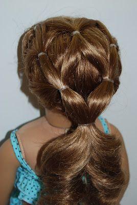 Fabulous 1000 Ideas About Doll Hairstyles On Pinterest American Girls Short Hairstyles Gunalazisus
