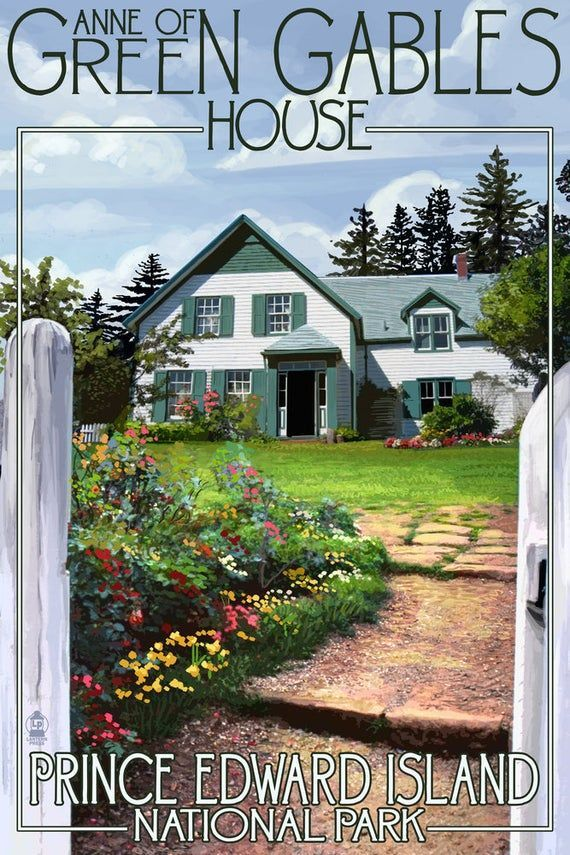 Prince Edward Island Green Gables House And Gardens Art Prints Wood Metal Signs Canvas Tote 1553038872020 Prince Edward Island Green Gables Gable House