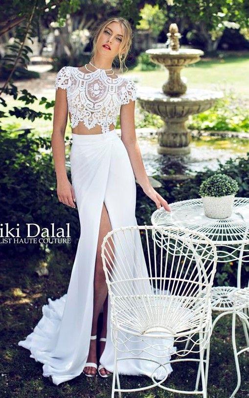 Ricki Dalal wedding dress. Loooooooove!