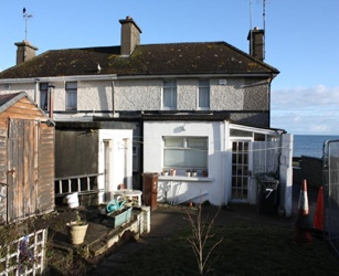 Skerries House Extension Before Rear  copyright: Shomera