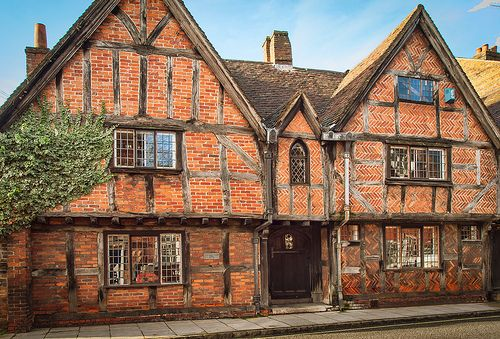 The 15th/16th century Manor House in Romsey, Hampshire |