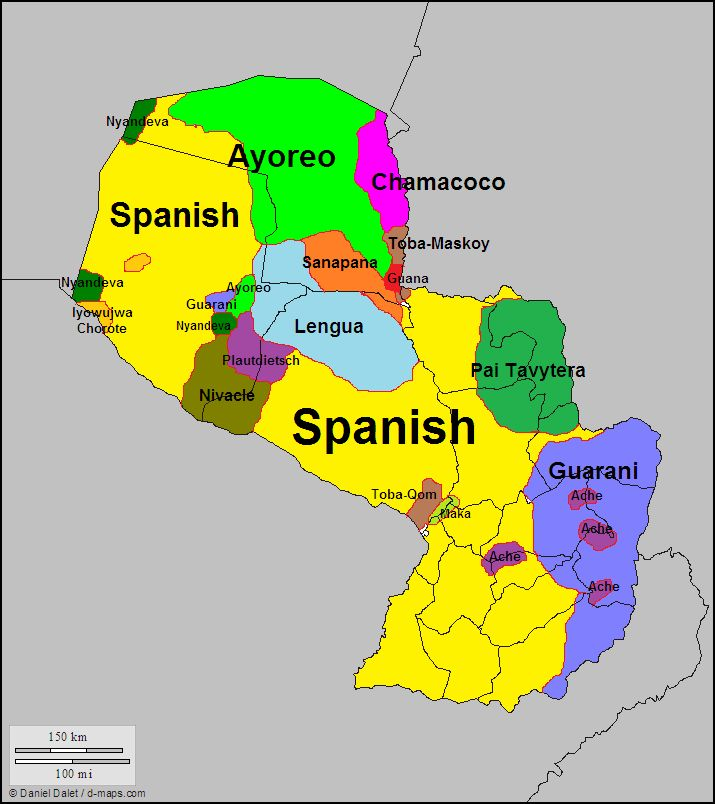Languages of Paraguay